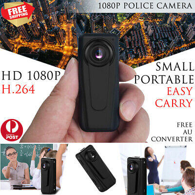New Police Camera Body Worn Pocket Security Guard Camcorder Recorder HD 1080P