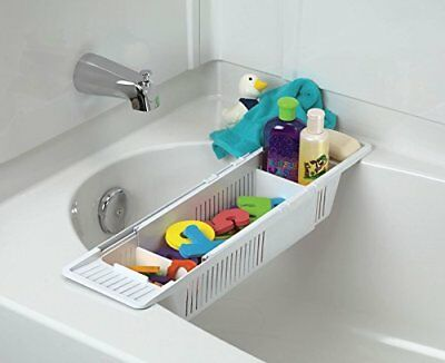KidCo Bath Toy Organizer Storage Basket White