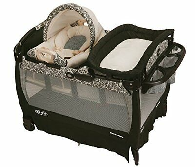 Graco Pack 'n Play Playard with Cuddle Cove Rocking Seat Rittenhouse