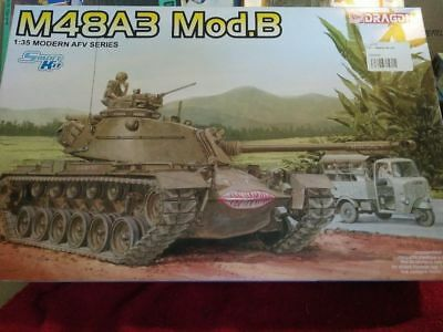 1/35 scale model Dragon M48A3 mod b kit