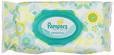 Pampers Sensitive Wipes Travel Pack 56 ct