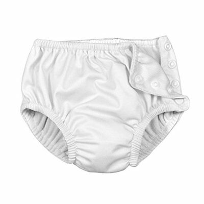 i play. Baby Toddler Ultimate Reusable Snap Swim Diaper New White 2T-3T