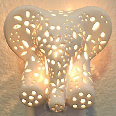 Child's Nursery Lamp/Night Light - Cotton Elephant available in multiple anim...
