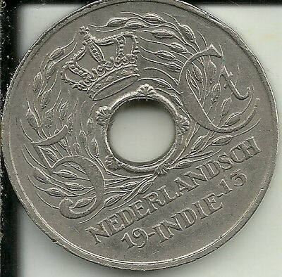 Netherlands East Indies 5 Cents coin 1913 KM#313