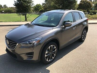 2016 Mazda CX-5 Grand Touring AWD Sport Utility 4-Door 2016 MAZDA CX-5 GRAND TOURING AWD, ONLY 653 ORIG. MI, LEATHER, NAVIGATION, ROOF!