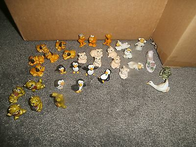 Bofrost Puppy Dogs Lamb Chickens Bears Mini Figurines Set Germany Collectibles