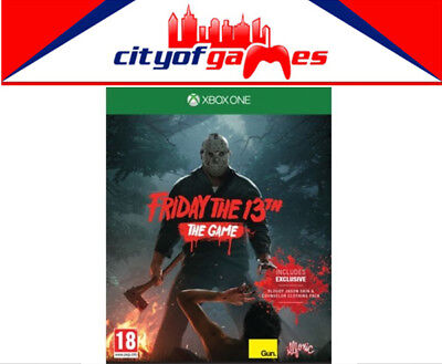 Friday the 13th The Game Xbox One Game New & Sealed Free Express Post In Stock
