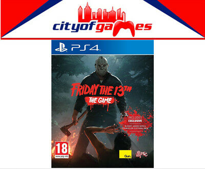 Friday the 13th The Game PS4 Game New & Sealed Free Express Post In Stock Now