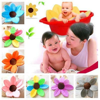 Blooming Bath For Baby Infant Flower Lotus Petals Babies Washcloths Flowers