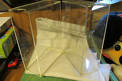 2 Acrylic Clear Magazine Holders, Free Shipping  US ONLY