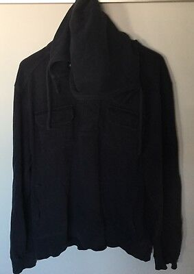 Country Road Navy Cotton Hoodiejumper Pullover Top - Size Xxl 100% Cotton