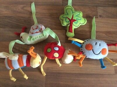 Spare Hanging Parts From cot mobile Bugs for crafting making