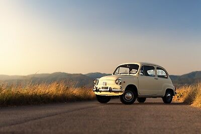 1968 Fiat 600 D  D model, paint code 234 Avorio Antico, Automotoclub Storico Italiano registered