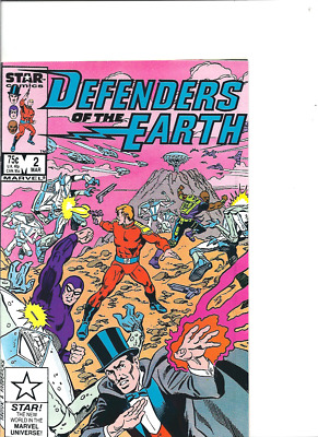 Defenders of the Earth no. 3, Star/Marvel, Phantom, Mandrake, 1987, Fine-.