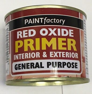 2 X RED OXIDE PRIMER Paint High Performance Tough Durable Metal Work 170ml