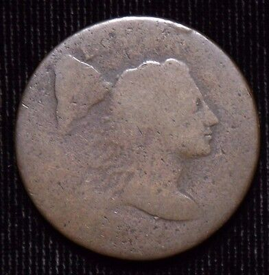 1795 Liberty Capped Large Cent  Fair - AG