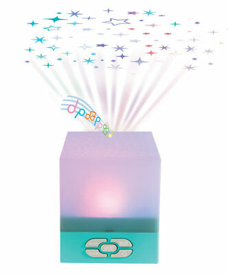 Playette Star Glow Cube Star Projector with Soothing Lullabies - Free Shipping