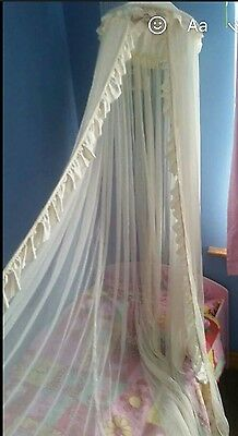 Mothercare bed/cot canopy