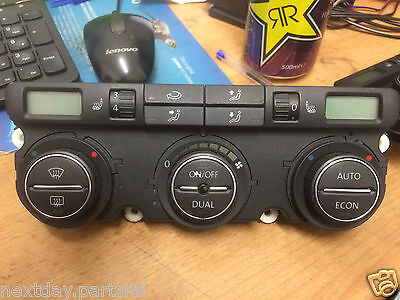 Vw Golf / Passat 04-11 Heating Control Switch / Heated Seats Switch Dual Option