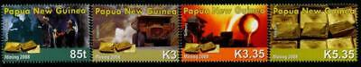 Papua New Guinea 2008 MNH MUH Set - Gold Mining Industry