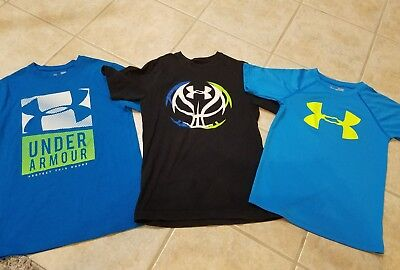 Boys YSM Under Armour shirt Lot Small