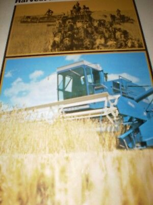 "Ford ""Harvest time...then and now"" Sales Brochure 1972"