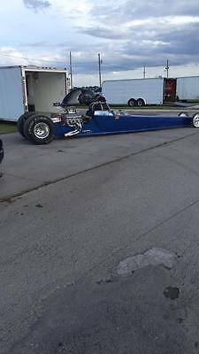 "Sell or Trade - Drag car Dragster 235"" w/ 22.5"" cage certified 6.0"