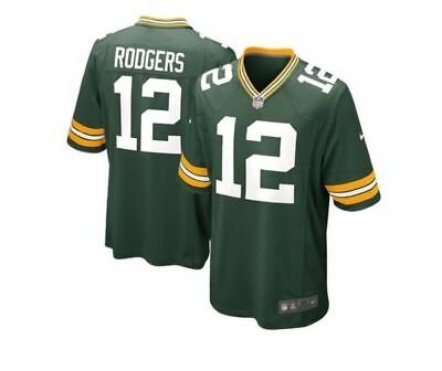 AARON RODGERS 12 Green Bay Packers Jersey NFL Players Stitched Men NWT