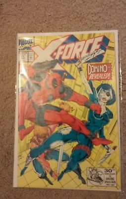 X-Force #11 (1992)  1st app of real Domino