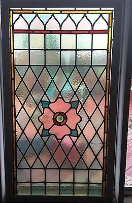 Vintage Stained Glass Window - Late 1800s