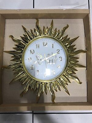 Islamic  Wall Clock With ALah And Mohamed Name