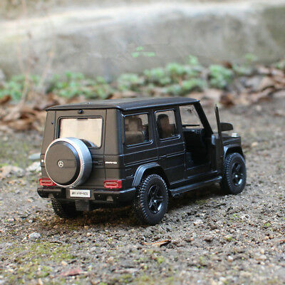 Mercedes-Benz G63 AMG Model Cars 1:35 Toys Collections Matte black Alloy Diecast