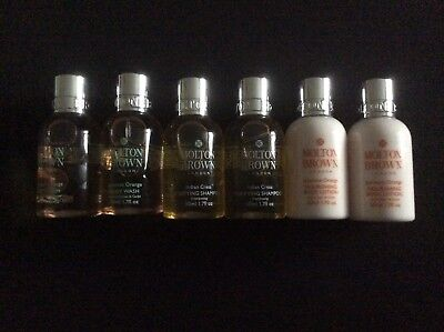 Molton Brown 6 x Travel Size Items BN