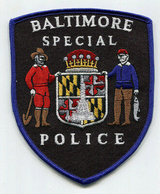 Baltimore Maryland Special Police Patch