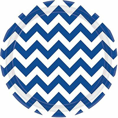 Amscan International – 551492 – 105 Chevron 23 cm piatti di (m6t)