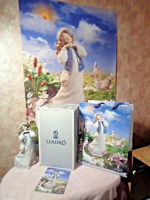 Lladro #6401 Dreams Of Summer Past Very Rare- New In Box