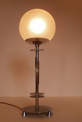 Art Deco Original Modernist Bauhaus Chrome Lamp