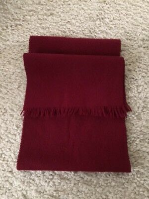 Christian Dior Men's Wool Scarf