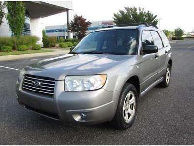 2006 Subaru Forester 2.5 X 2006 Subaru Forester 2.5 X AWD Wagon 1 Owner Serviced Extra Clean Great Find
