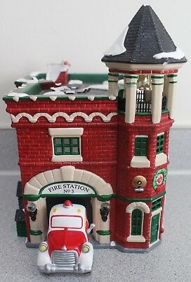 Dept 56 Snow Village Fire Station #3