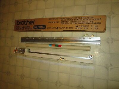Brother Knit Leader Nice Condition Knitting Machine Accessorie