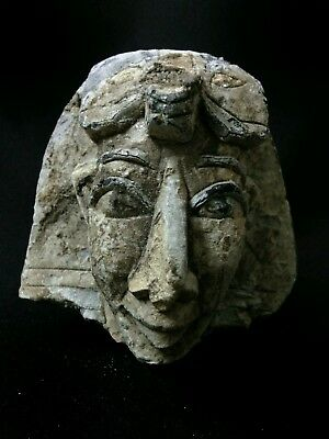 Ancient Egyptian head of king ramesses / ramses ii