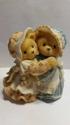 Cherished Teddies Sisters and Hugs Soothe the Soul Haley and Logan Enesco 1998