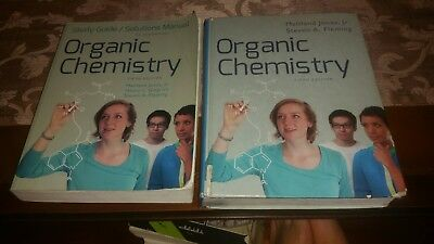 Text Book & Study Guide and Solutions Manual : For Organic Chemistry, 5th ed