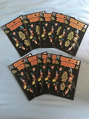 DC Suicide Squad #1 First Issue 1987 NOS Unread Lot of 10