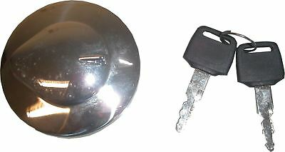 Petrol Cap fits 3.5 US Gallon Raw VT600 Mustang Tank with large tunnel