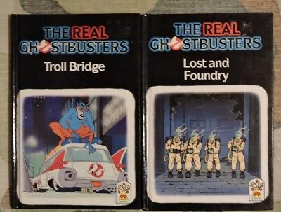 Carnival. Books Ghost Busters  Troll Bridge - Lost & Foundry Used Good Condition