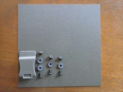 "Inside Waste Band holster OD Green Kydex KIT Made In USA w Hardware & 1.5"" Clip"