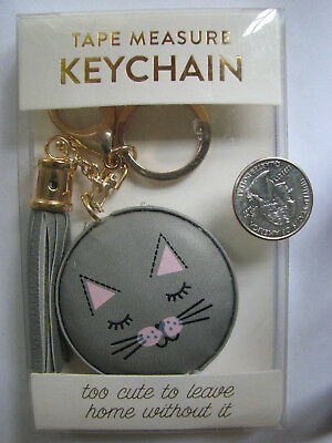 """New in Box Cat Retractable 60"""" Tape Measure/Keychain"""