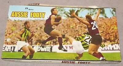 Aussie Footy - Vintage Board Game 1960's RARE, COLLECTIBLE